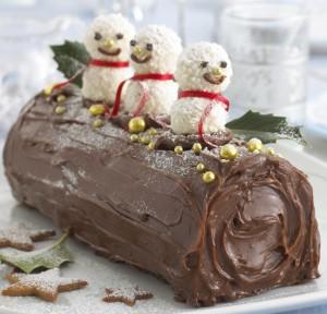 Chocolate Yule Log 3589-101994