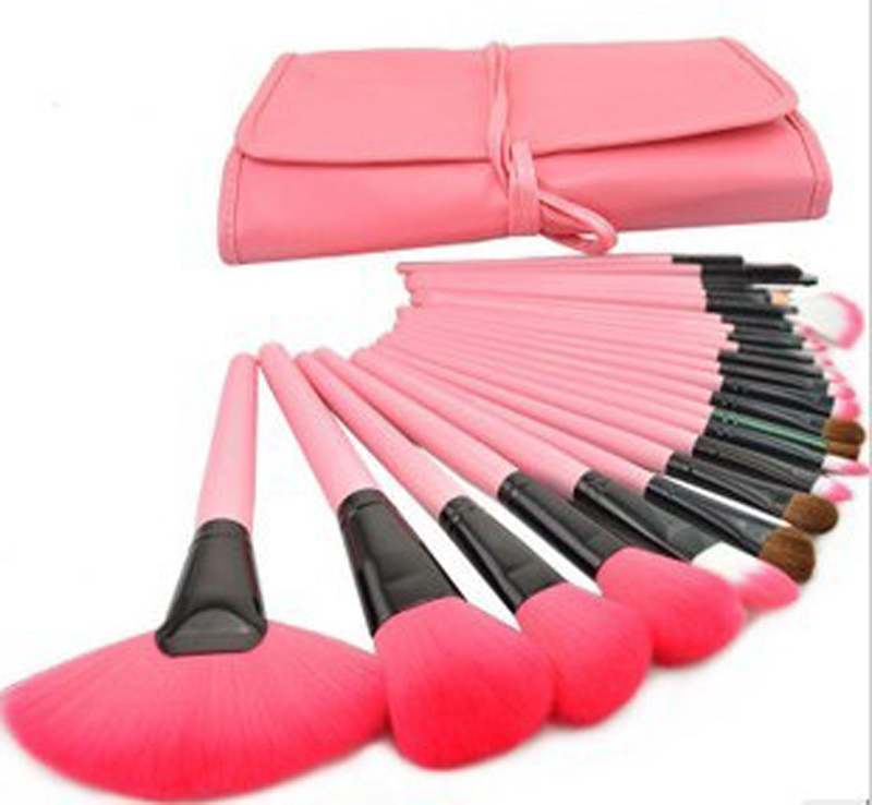 24 brushes pink (6)