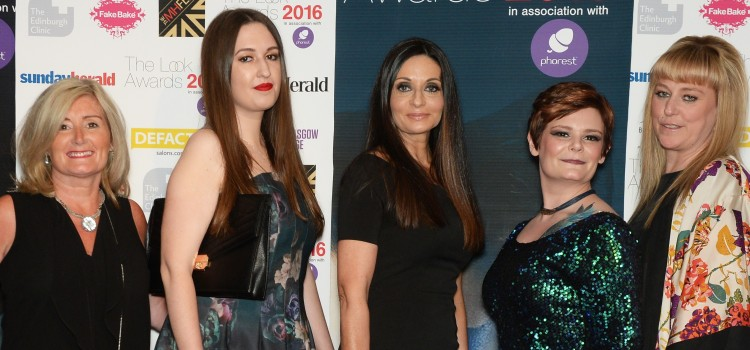 The Look Awards 2016The 2016 Look Awards held at the Radisson Blu Hotel Glasgow, 15/5/16. Picture shows the team from Charlie Taylor (Photo by Kirsty Anderson/Herald & Times) - KA
