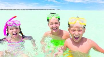 Kids at the beach 1