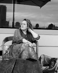 adele no make-up